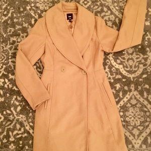 Gap wool mid length camel color jacket